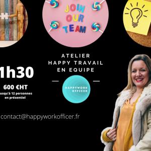 Atelier Happy Travail En Equipe