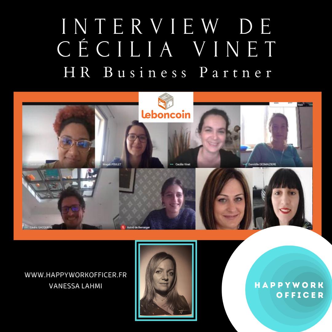 Interview De Cécilia Vinet par Happy Work Officer
