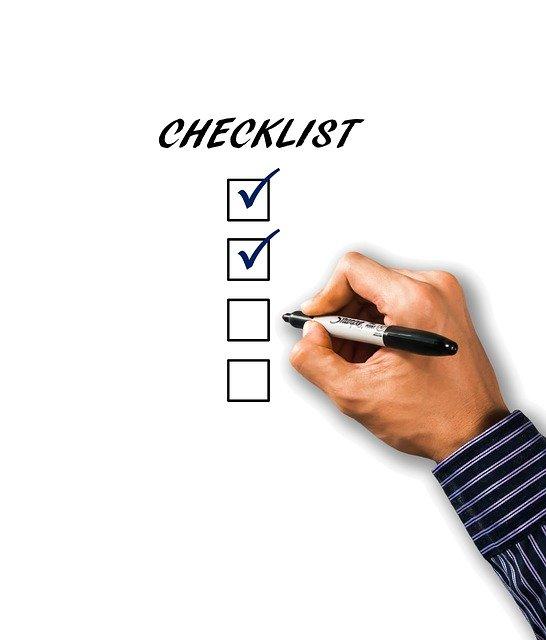 Checklist 1919292 640